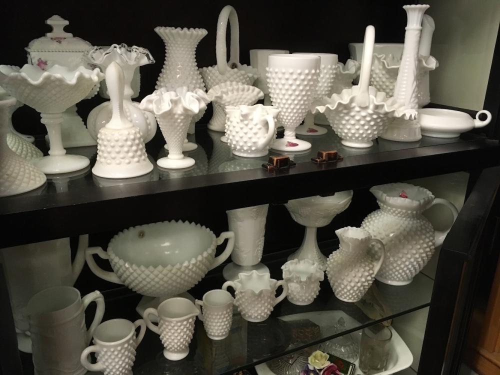 Milk Glass Estate Collection