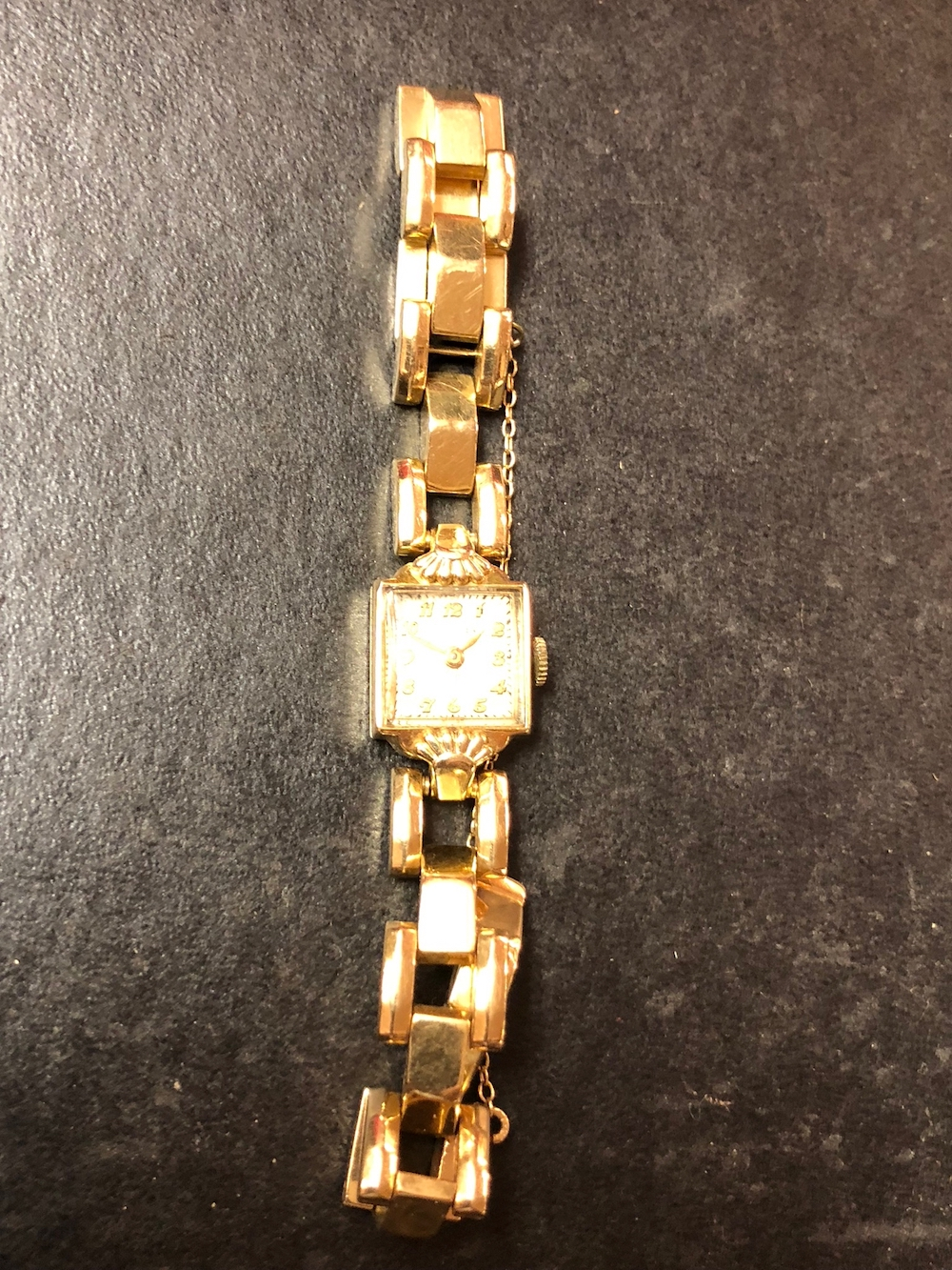 14kt Gold Wittnauer Ladies Watch
