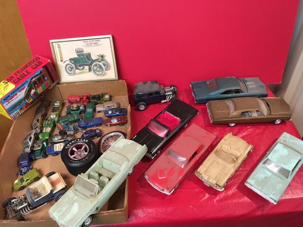 Vintage Toy Cars Estate Collection