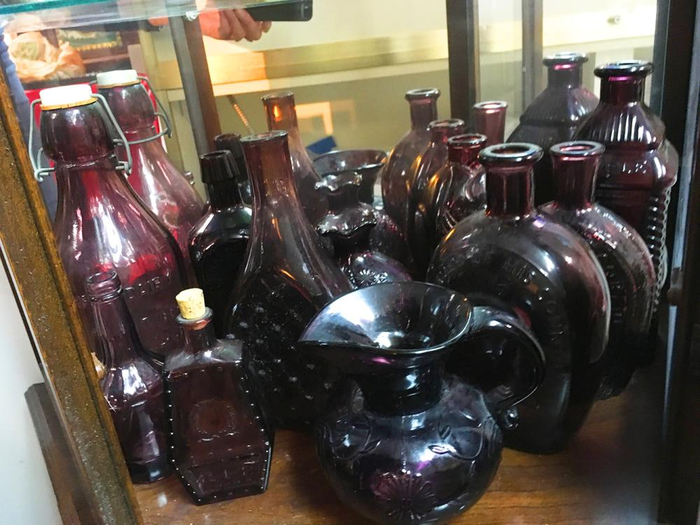 Purple Glass Collection