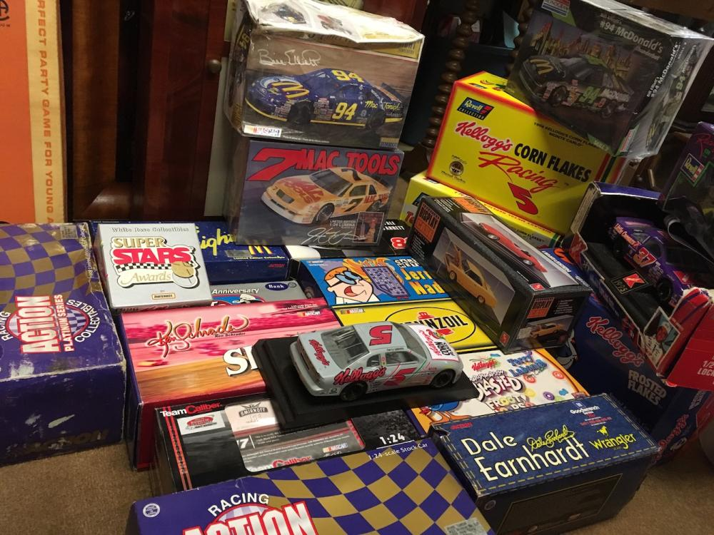 Racing Die Cast Cars, Collectibles