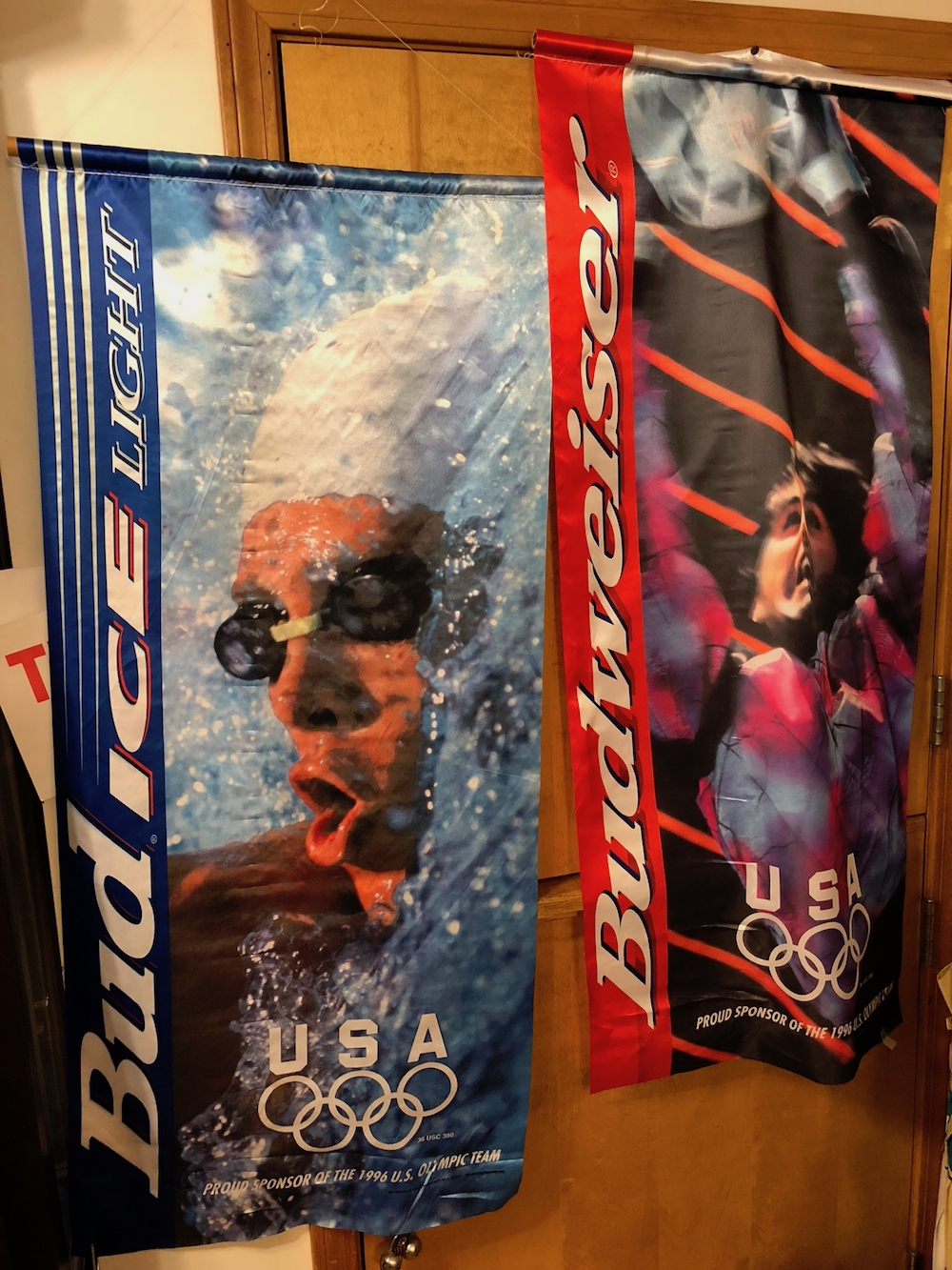 1996 Olympic Banners