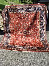 Room Size Antique Oriental Carpet