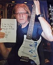 St. Jude Item:  Twisted Sister Autographed Guitar