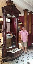 Monumental Renaissance Revival Hall Mirror