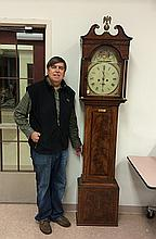 Josh Stirling Grandfather Clock, 1791