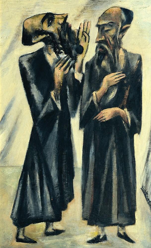 Isaac Lichtenstein 1888 - 1981 Hassids