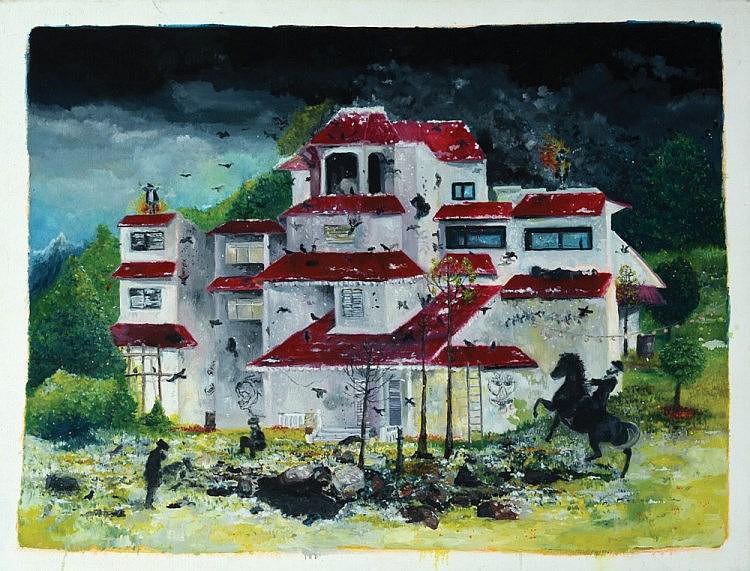 Ben Ben Ron b. 1971 Landscape