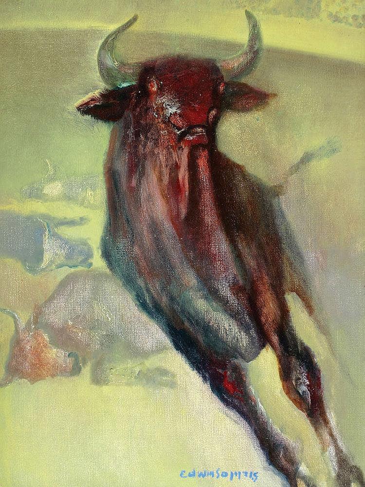 Edwin Salomon b. 1935 Bulls