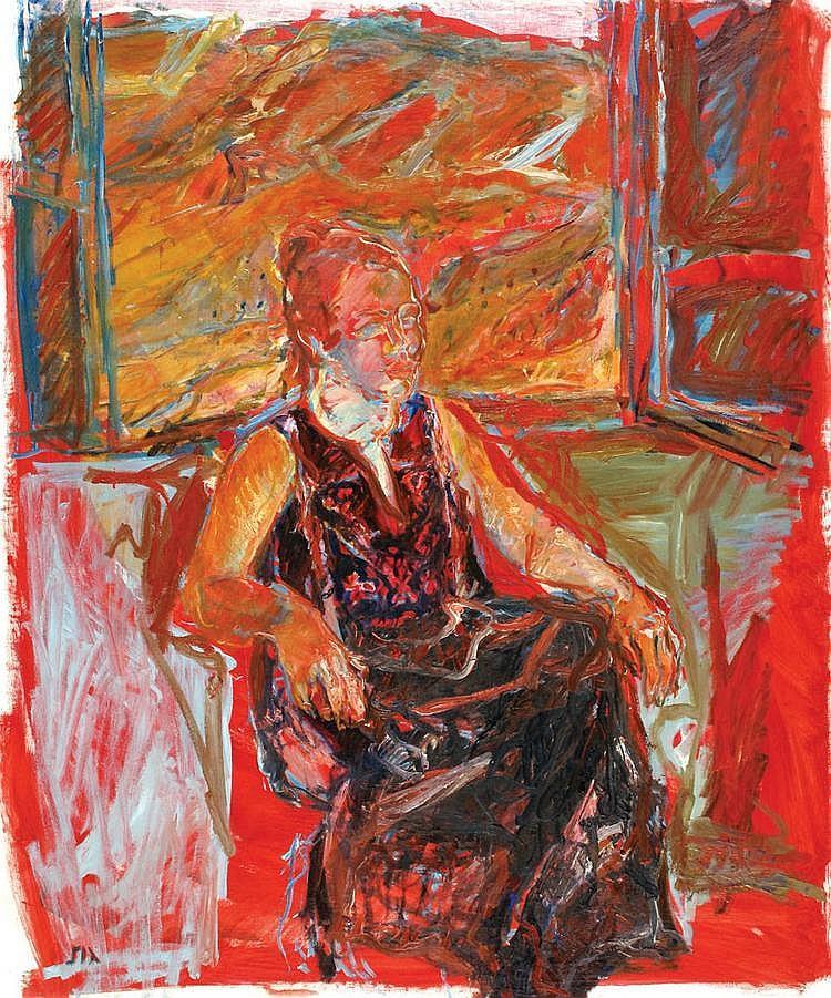 Eliahu Gat 1919 - 1987 Woman