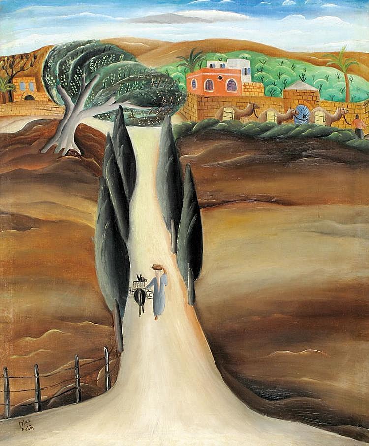 Reuven Rubin 1893 - 1974 Shaykh-Munis