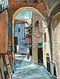 Jakob Eisenscher 1896 - 1980 Figure in Safed,, Yaacov Eisenscher, Click for value