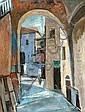 Jakob Eisenscher 1896 - 1980 Figure in Safed,, Yaacov Eisenscher, Click for value