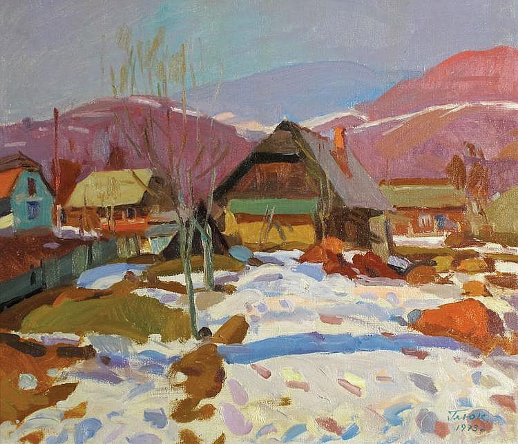 Gavriil Martynovich Gliuk 1912 - 1983 Landscape,