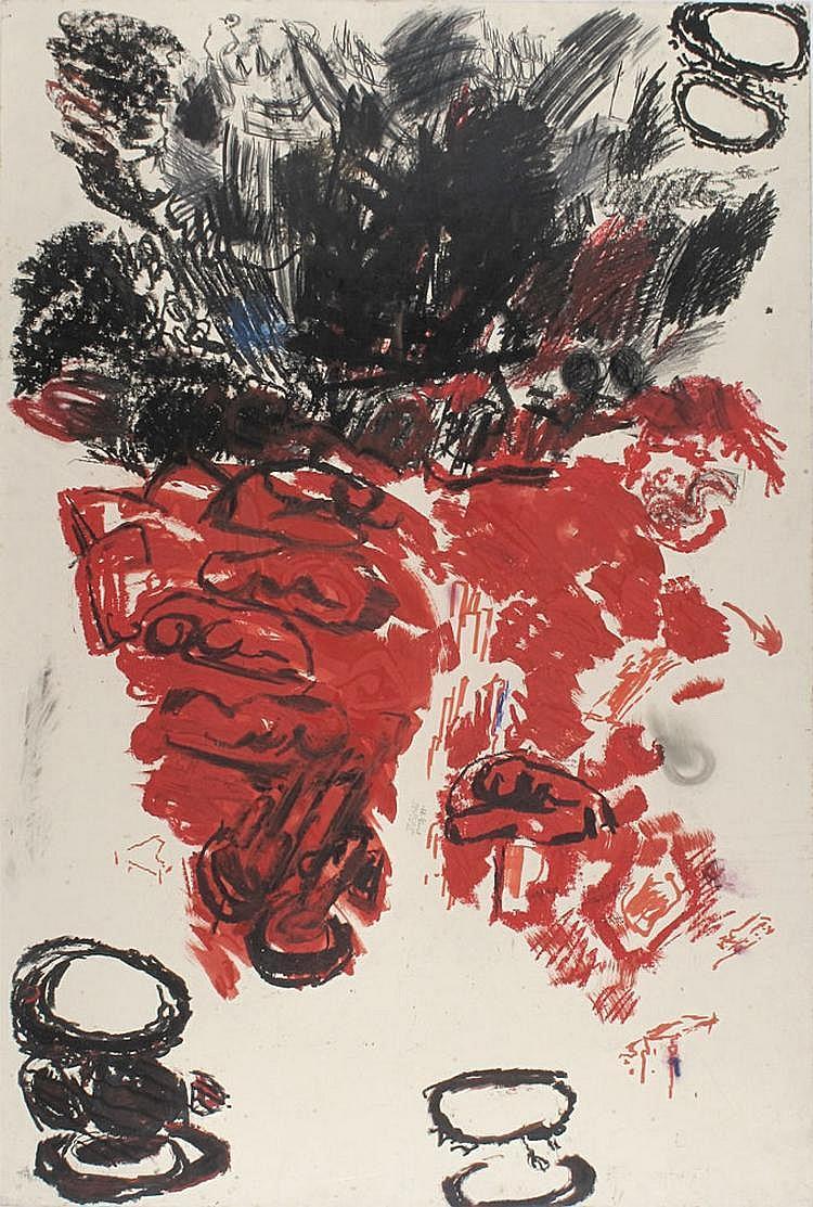 Aviva Uri 1927 - 1989 Untitled,