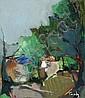 Isaac Tarkay b. 1935 Trees, Itzchak Tarkay, Click for value