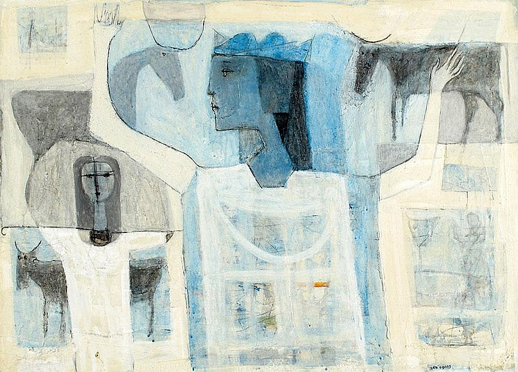 Moshe Proppes 1985 - 1922 Queen of Sheba