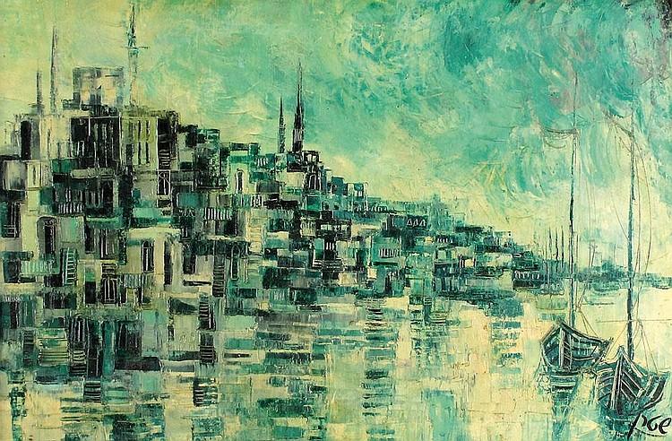 Yosi Stern 1923 - 1992 Boats