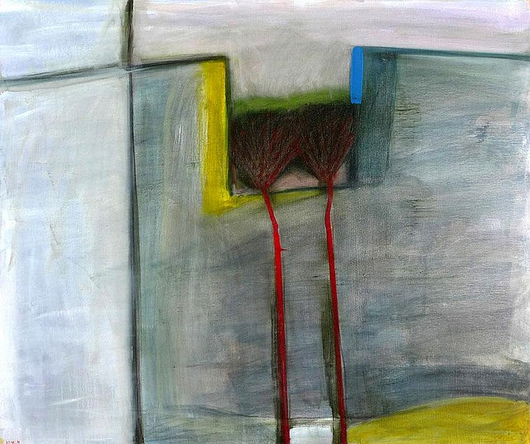 Aharon Messeg b. 1942 Kfar Nachum Oil on canvas