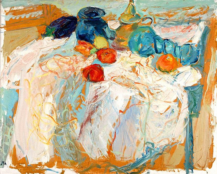 Eliyahu Gat 1919 - 1987 Still-Life on the Table,