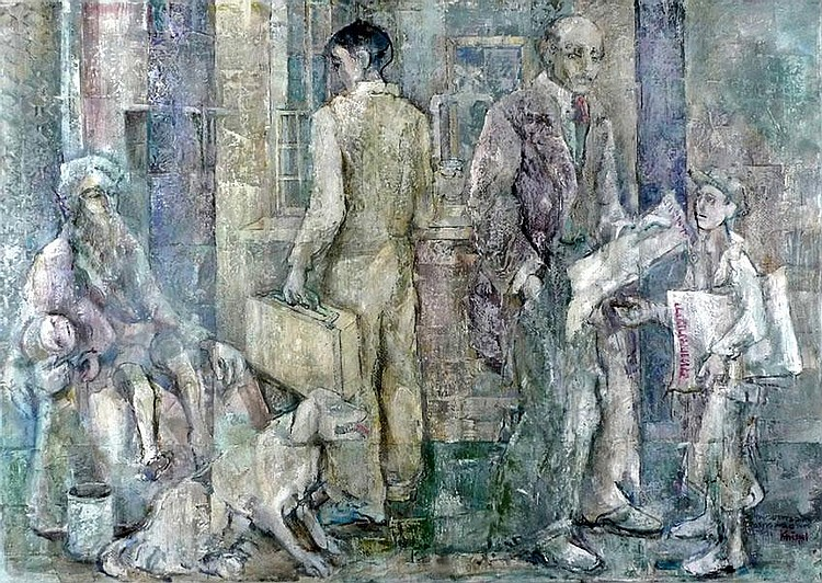 Gershon Knispel b. 1932 Ahmad in the Employment