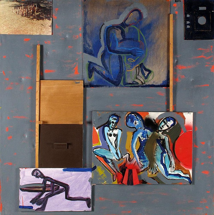 Pinhas Cohen Gan b. 1942:  Untitled