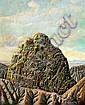Nachum Gilboa b. 1933:  Mount Sinai, Nahum  Gilboa, Click for value