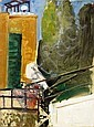 Liliane Klapisch b. 1933:  Houses in Jerusalem, Liliane Klapisch, Click for value