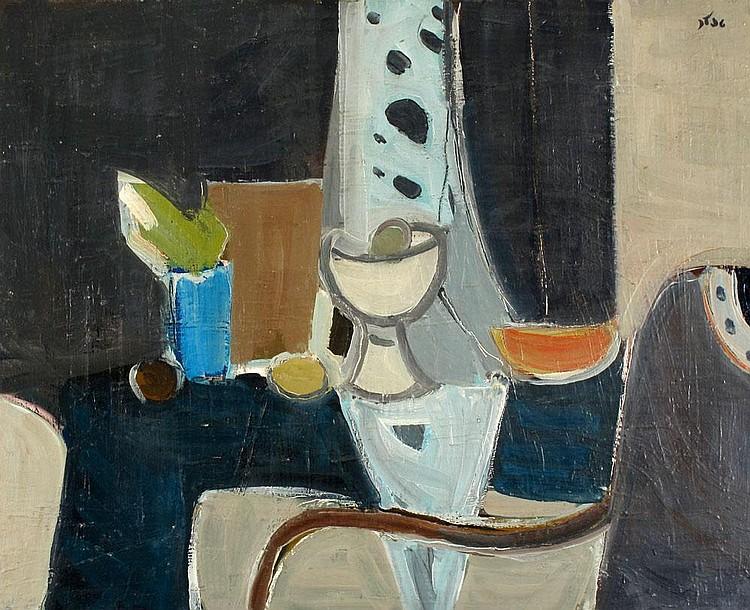 Shmuel Tepler 1918 - 1998:  Still Life