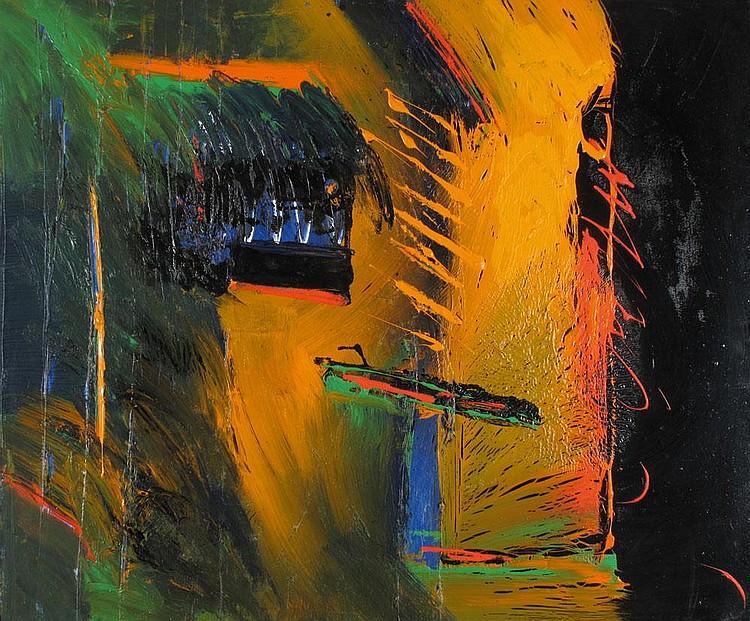 Dan Reisinger b. 1934:  Untitled