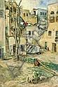 Kaete Ephraim Marcus 1892 - 1970:  Children in Acre, Kaete Ephraim  Marcus, Click for value