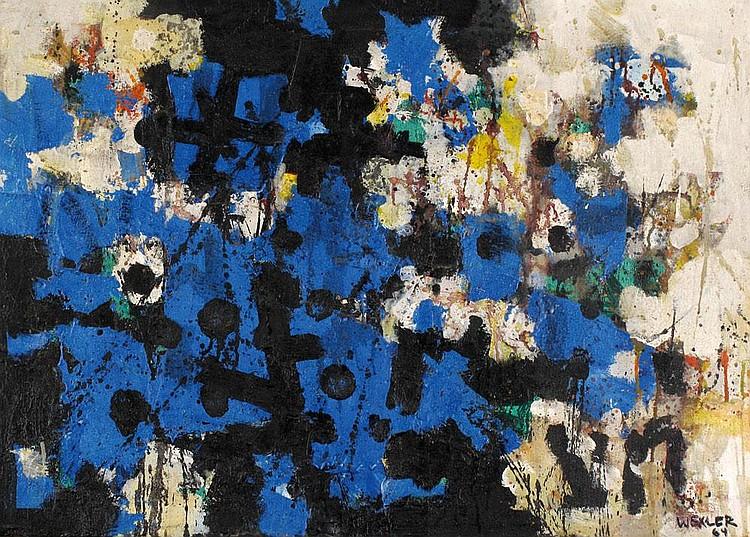 Jacob Wexler 1912 - 1995:  Untitled