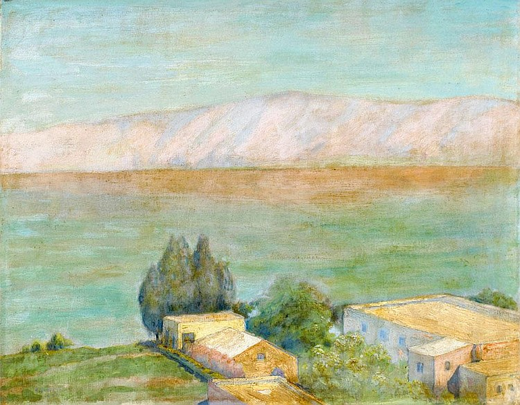 Hermann Struck 1876 - 1944:  A View of the Kinneret