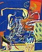 David (Dudu) Gerstein b. 1944:  Night, David Gerstein, Click for value