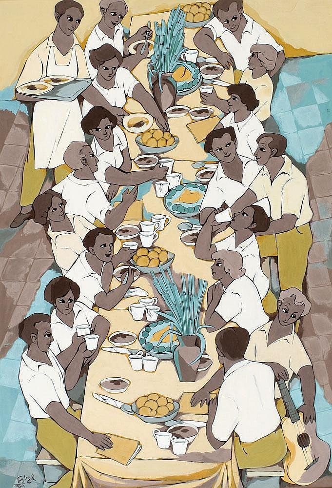 Shraga Weil 1918 - 2009:  The Passover Seder