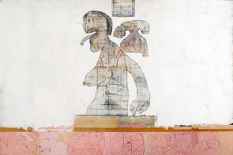 Yair Garbuz b. 1945:  Figure