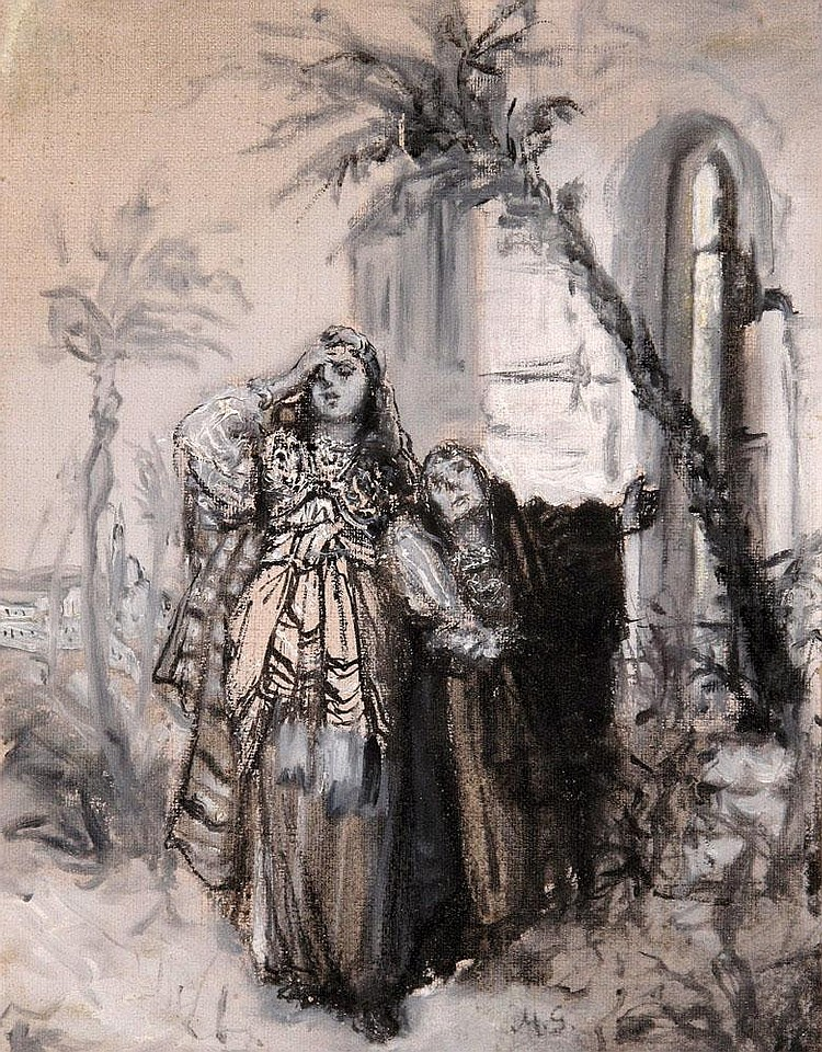 Maurycy Gottlieb 1856 - 1879  Women