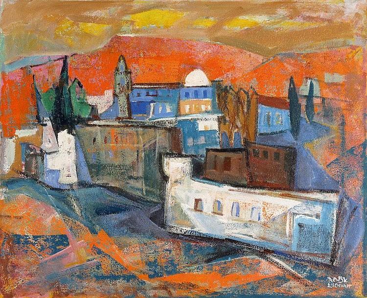 Jakob Eisenscher 1896 - 1981 Jerusalem