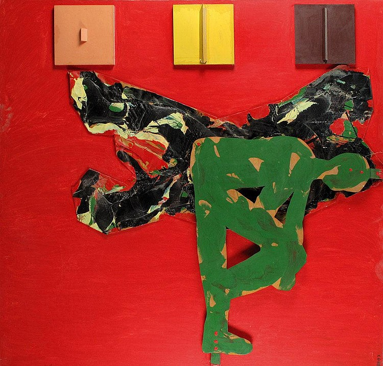 Pinhas Cohen Gan b. 1942 Untitled