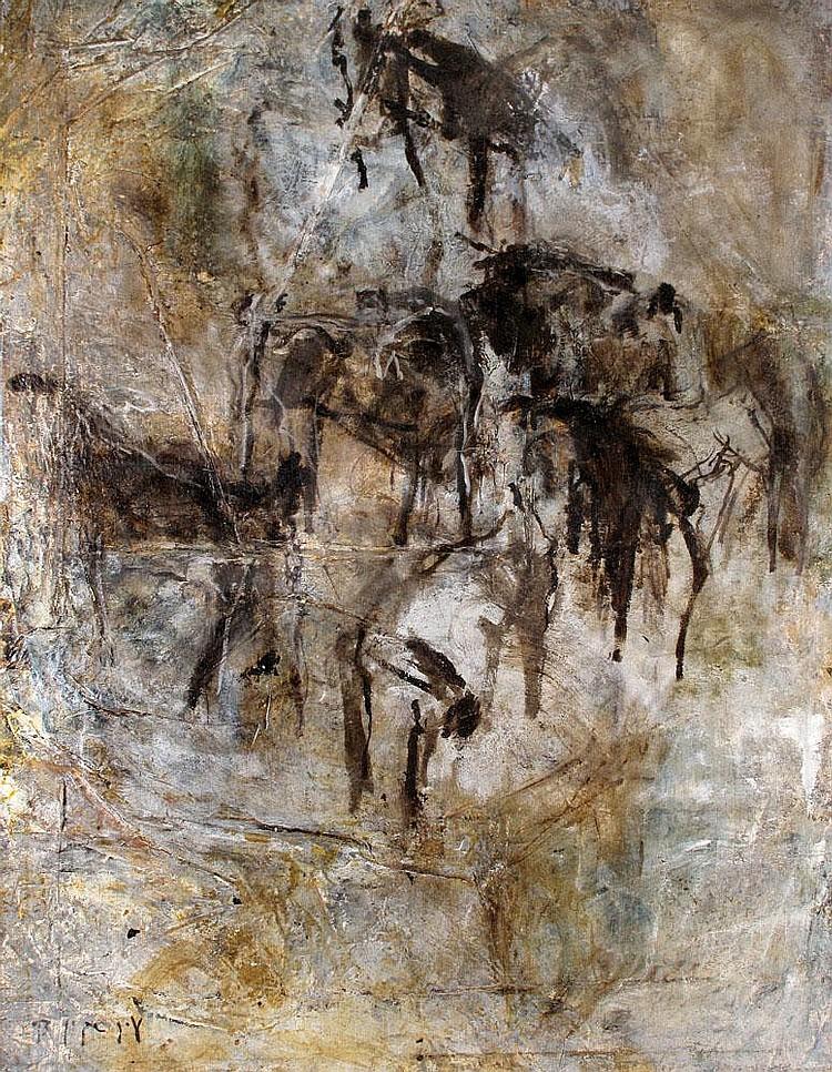 Eran Shakine b. 1962 From the Goat Series