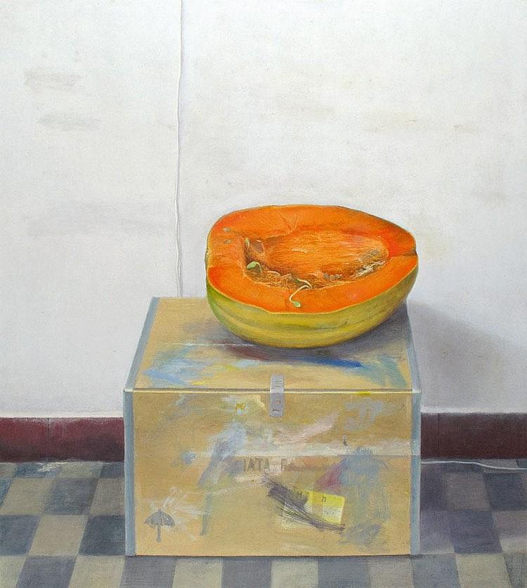 Raanan Levy b. 1954 Pumpkin