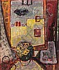 Lea Nikel 1918 - 2005 Interior of the Studio, Lea Nikel, Click for value