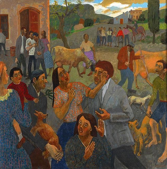 Gregoire Michonze 1902 - 1983 Figures in the