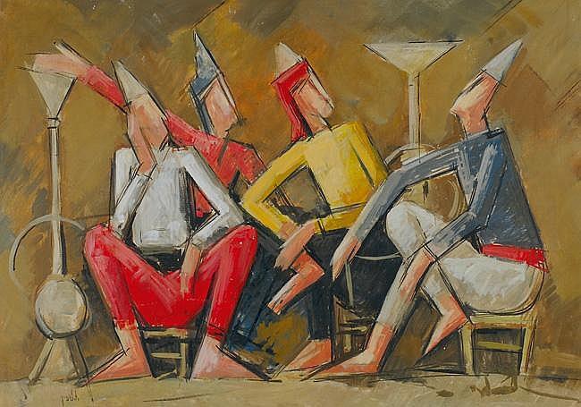Arie Lubin 1897 - 1980