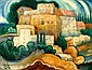 Shmuel Schlesinger 1896 - 1986 Landscape, Oil on, Shmuel Schlesinger, Click for value