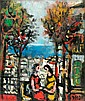 Jacob Wexler 1912 - 1995 Figures in Haifa, Jacob Wexler, Click for value