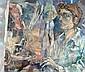 Gershon Knispel b. 1932 Self Portrait Oil on, Gershon Knispel, Click for value