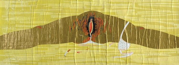 Ben Bejerano (Ben Ron) b. 1971, Untitled, Mixed
