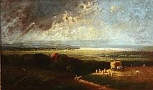 Heinrich Neppel 1874 - 1936, Landscape,, Oil on