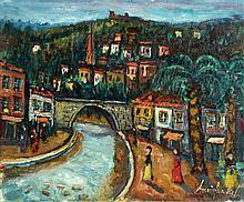 Borovin Frenkel 1895 - 1984, Figures near the